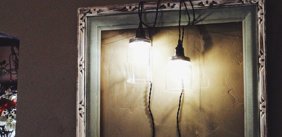 easy diy gift lights frame