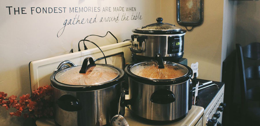 party planning crock-pots