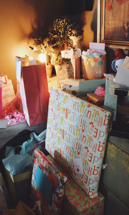 party planning presents